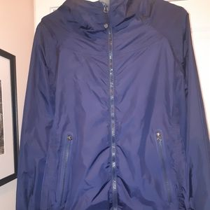 Lululemon navy coat jacket 8